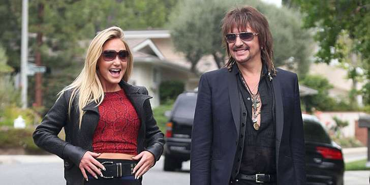 How is the career of guitarist Richie Sambora going after breaking up with her ex-girlfriend Nikki