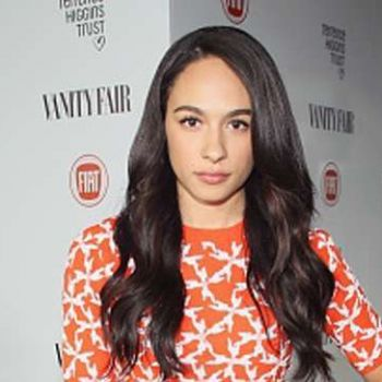 What are the movies and TV shows that actress and singer Aurora Perrineau have featured in?