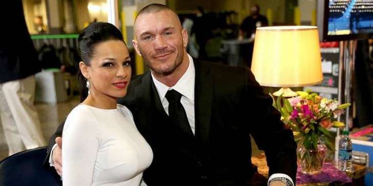 WWE star Randy Orton and his wife Kim Marie are expecting their baby daughter this November
