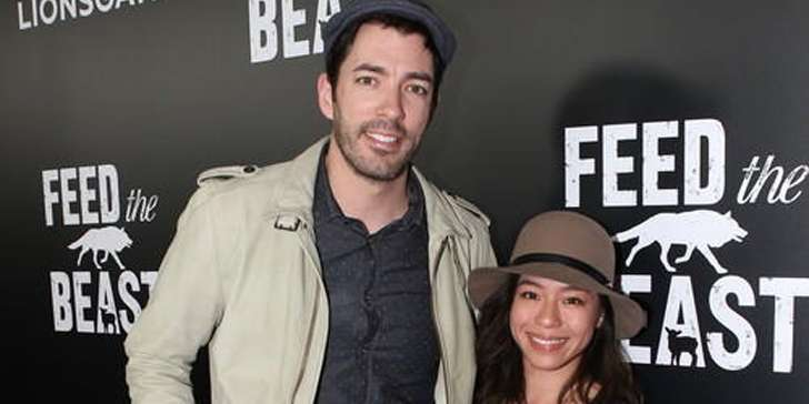 Does Drew Scott from TV series Property Brothers have a child with girlfriend Linda Phan?