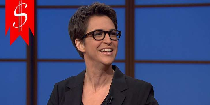 Get to know the salary and net worth of TV show host Rachel Maddow in the news here