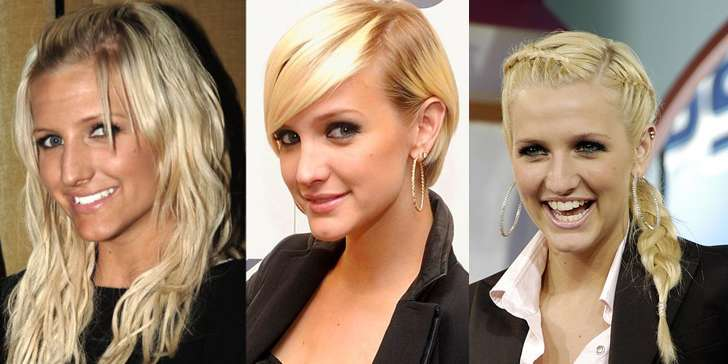 What has singer-songwriter Ashlee Simpson to say about her plastic surgery? Find out