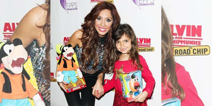 Daughter of TV personality Farrah Abraham's daughter Sophia kicked off of Snapchat
