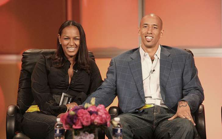 How happy is NBA star Doug Christie with his wife Jackie, a Basketball Wives LA star?
