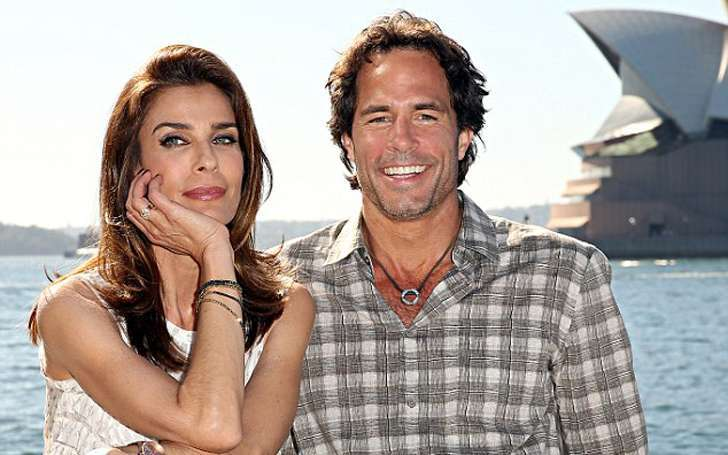 Kristian Alfonso with husband Danny Daggenhurst
