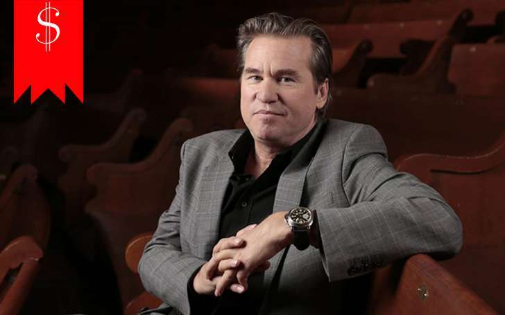 Find out Top Secret's actor, Val Kilmer's net worth and annual salary along with his acting career