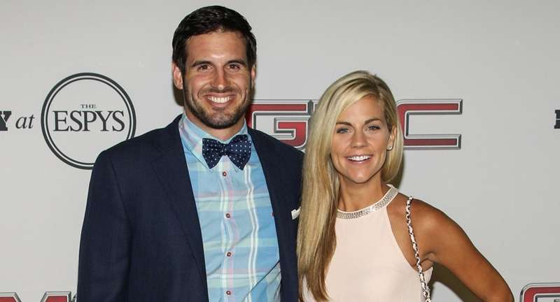ESPN's sportscaster Samantha Ponder is happy with Christian, her footballer husband