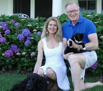 Chuck Scarborough, a journalist and an author, is happily married to Ellen Ward Scarborough