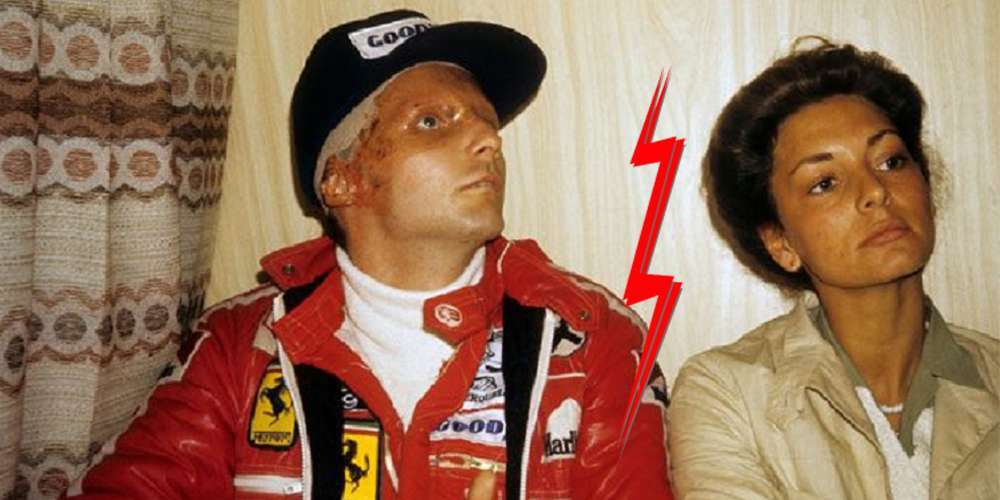 Niki Lauda, former F1 driver, says the rumors of his divorce with his wife Birgit Werzinger is fake