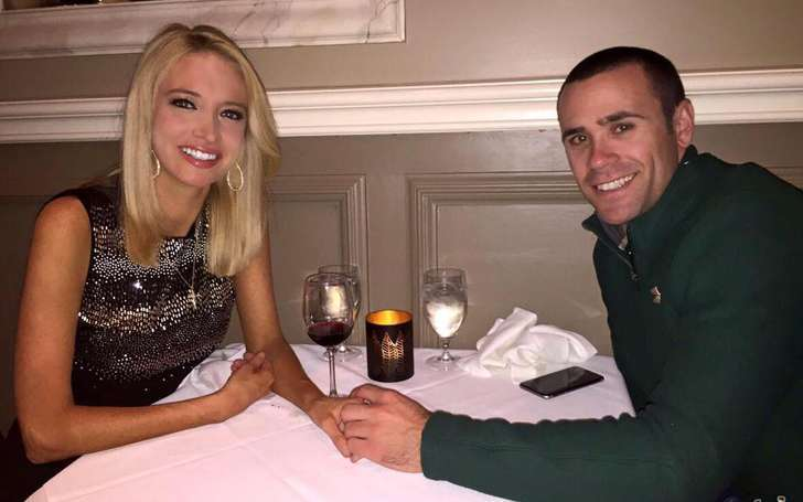 Romantically engaged boyfriend and girlfriend: Kayleigh McEnany and Sean Gilmartin