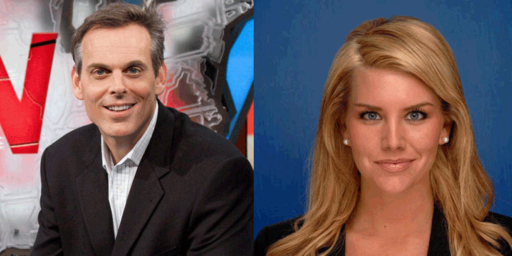 How is the second married life of TV Personality Colin Cowherd. Why did he divorce his first wife?