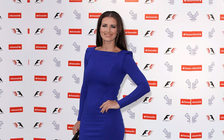 How's the personal life of TV presenter Kirsty Gallacher going on after the divorce with Paul Sampson?