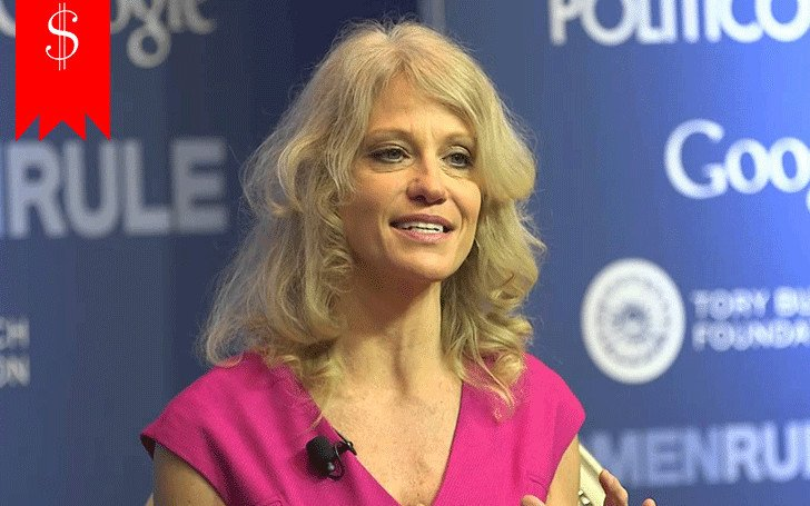 Find out how happy is commentator Kellyanne Conway with her net worth & career