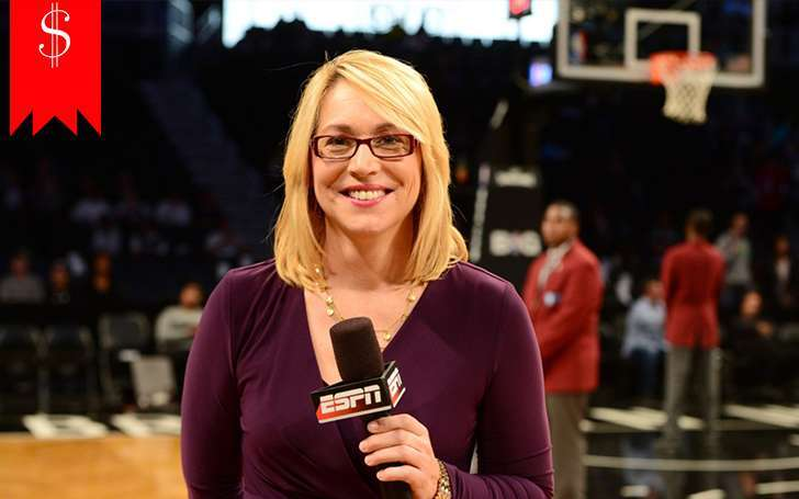 What are the sources of Doris Burke's income? Ascertain the reason for her rising net worth