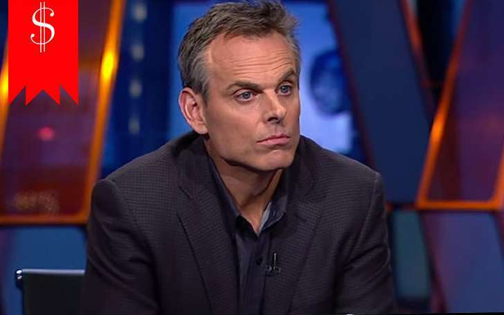 What's KVBC's Colin Cowherd's net worth? See his very productive journalism career here