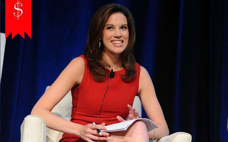 Journalist Kelly Evans' growing career has resulted in her fine net worth and handsome salary