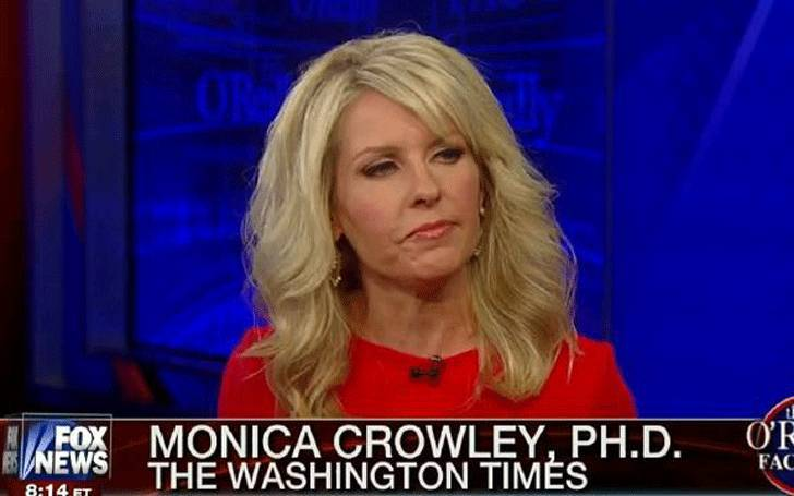 Highlight the brilliant journalism career of Monica Crowley, the editor of 'The Washington Times'