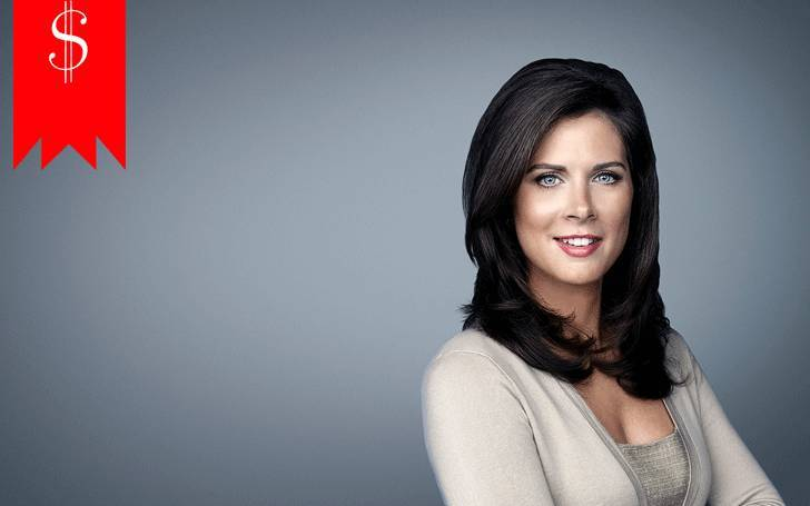 What's news anchor Erin Burnett's Net Worth? How much does her employer pay her as salary?