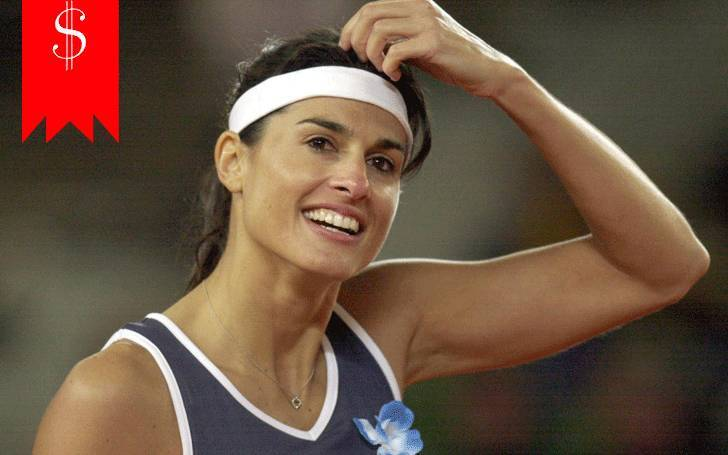 Tennis player Gabriela Sabatini has the net worth of $8 million. What are her sources of income?