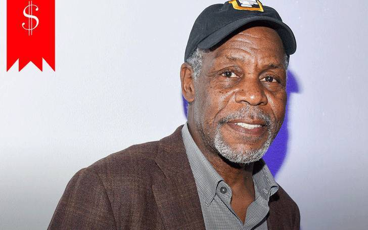 What are the income sources of Danny Glover, the actor with the net worth of $15 million?