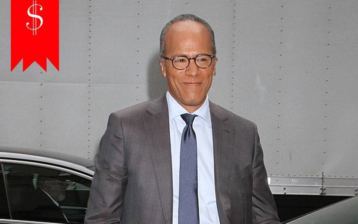 How much does news anchor Lester Holt earn in a year, as salary? Ascertain his net worth, here