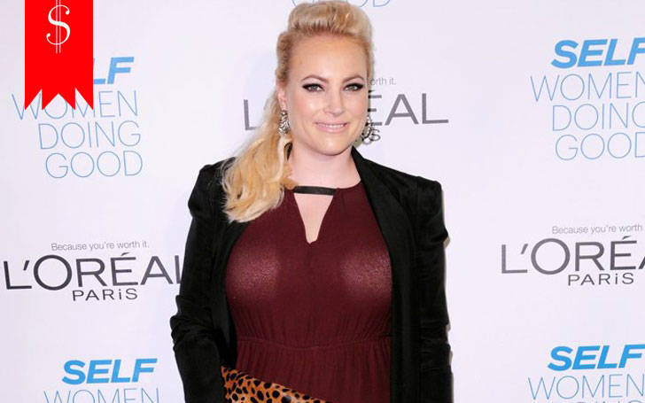Meghan McCain hasnet worth of $4 million. Know about her income sources