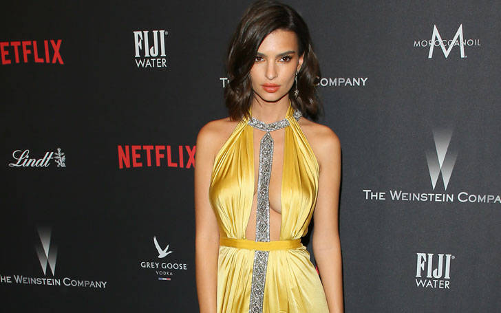 Model Emily Ratajkowski suffered a wardrobe malfunction at Golden Globes after-party: Find what really happened