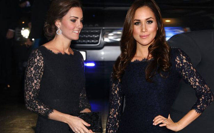 How is the Relationship between actress Meghan Markle and her Friend Kate Middleton?