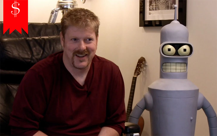 Actor John DiMaggio's estimated net worth is $25 million. What are his sources of income?