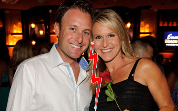 Is TV host Chris Harrison involved in any affair after his divorce with Gwen Harrison?