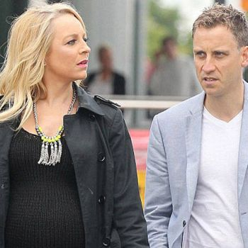 TV presenter Carrie Bickmore and her partner Chris Walker are happily living with twoChildren