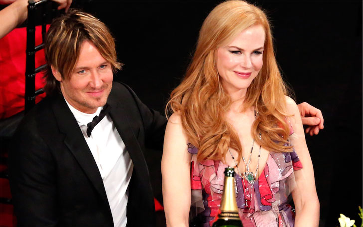 Actress Nicole Kidman reveals her husband Keith Urban wasn't interested in her when they first met