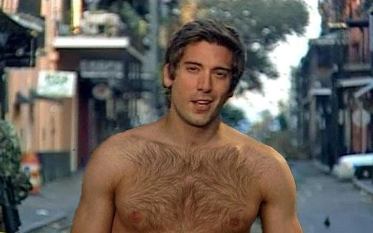 David Muir Shirtless