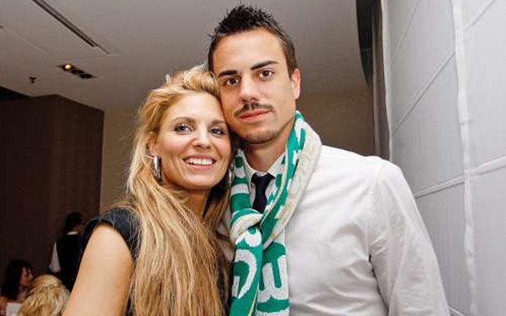 Diego Benaglio and his Spouse  Nadin Benaglio