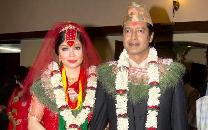 Rajesh Hamal Marriage, Wife