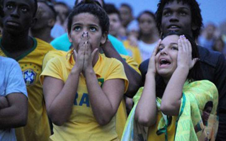 Suicide by fan of Brazil