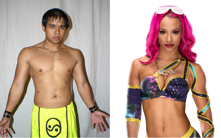 Happily married wrestler-couple: Sasha Banks and Sarath Ton