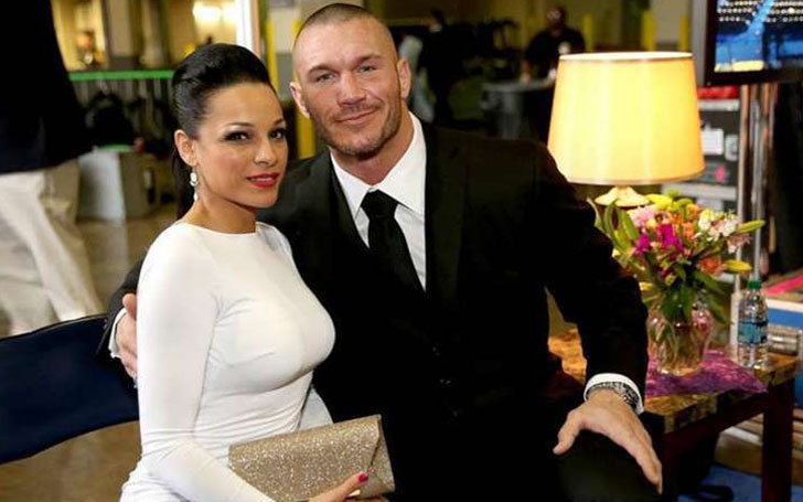 Where is Randy Orton's wife Kim Marie Kessler right now? They got married in 2015.