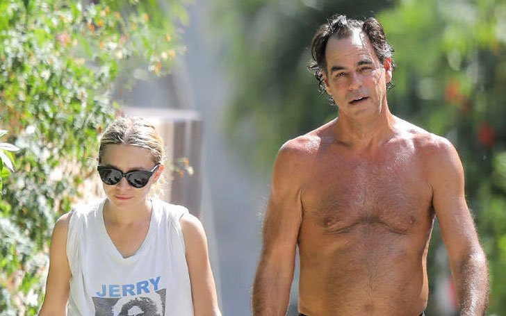 Ashley Olsen Reportedly splits from with her 58 years old boyfriend Richard Sachs