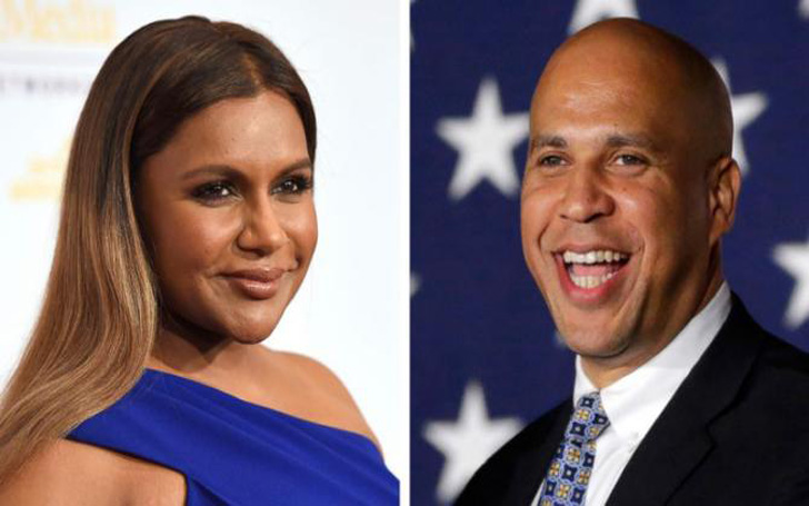 A Coincidence Made A Dinner Date Between Mindy Kaling And Cory Booker