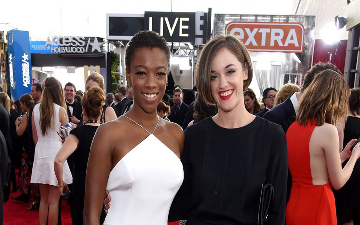 Samira Wiley and Lauren Morelli Of Netflix Series Orange Is The New Black Got Married In California