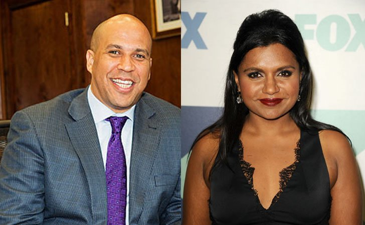 Mindy Kaling says Yes to Cory Booker For Dinner Date After Dissing Newark