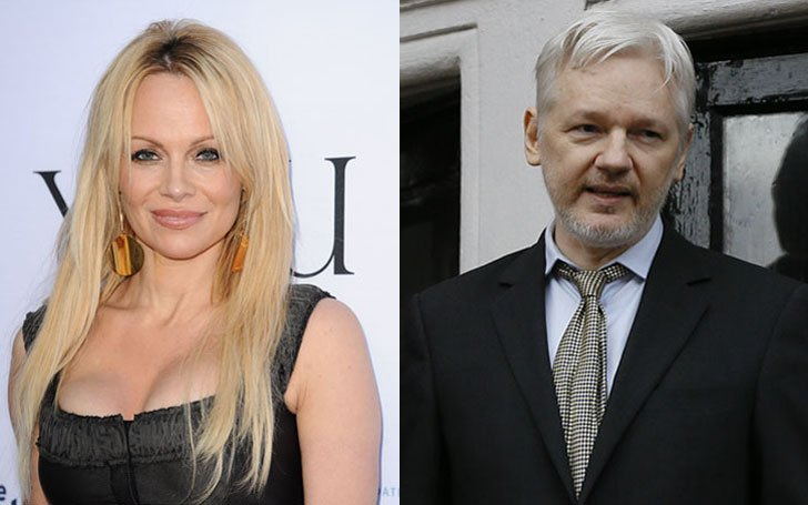 Could Pamela Anderson really be dating the WikiLeaks founder Julian Assange?