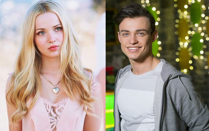 Dove Cameron's new man Thomas Doherty is her co-star. How did these two meet? What's their love life like?