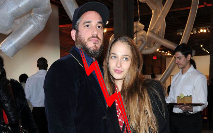 Why did Michael Mosberg and Jemima Kirke split after 7 years of their happy married life?
