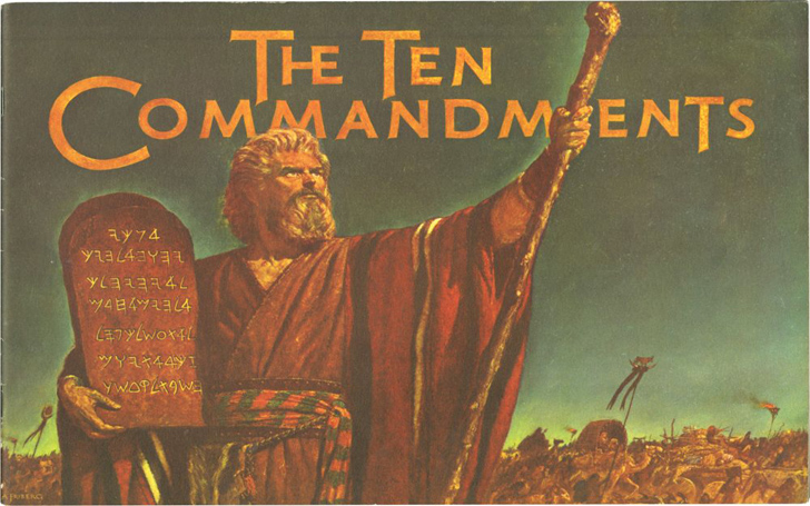 Easter Is Incomplete Without The Airing Of Charlton Heston�s The Ten Commandments
