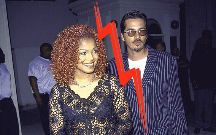 Janet Jackson Divorce from her Husband After Five Years of Marriage and after Giving birth to a baby