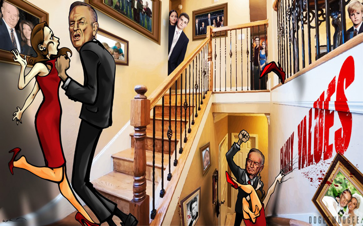 Bill O� Reilly�s Wife Maureen Mcphilmy Was The first to be harassed by him