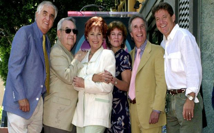 See How Henry Winkler , Willie Aames And Other Celebrities Paid Homage to Erin Moran