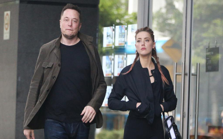 Johnny Depp's Ex-wife Amber Heard And Telsa's Co-Founder Elon Musk Spotted Together